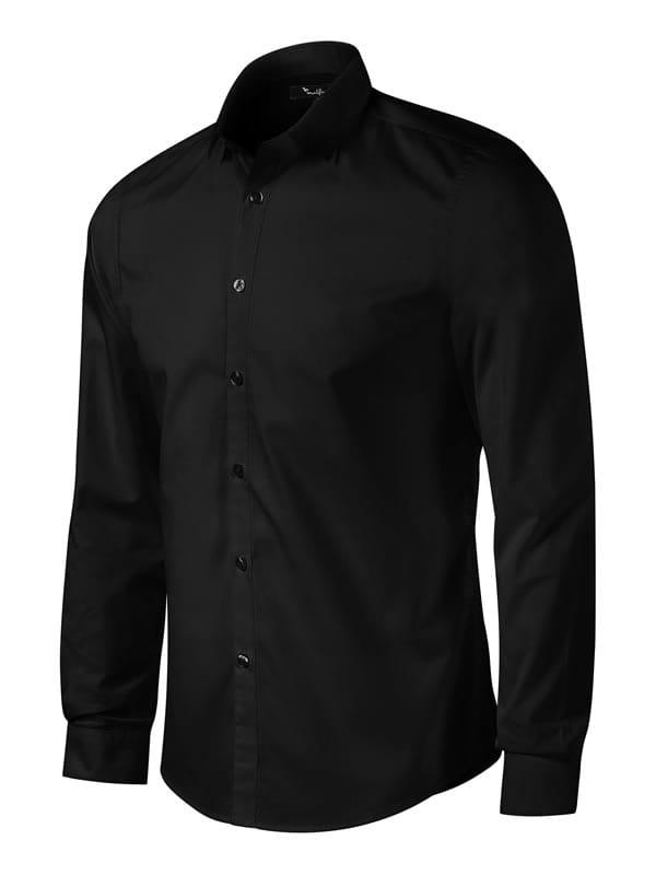 6065e3cfd11c02 Męska koszula firmowa z dł. rękawami Malfini Dynamic - kolor 01 Czarny ...