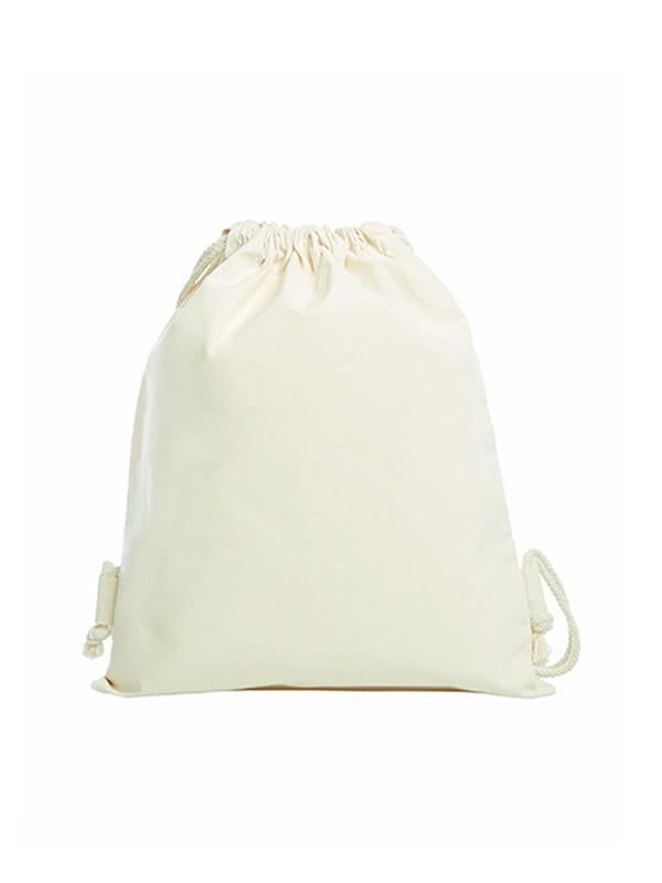 6dce994bb10c8 ... Worek z bawełny organicznej z Twoim nadrukiem Halfar Drawstring Bag  Organic 1813052
