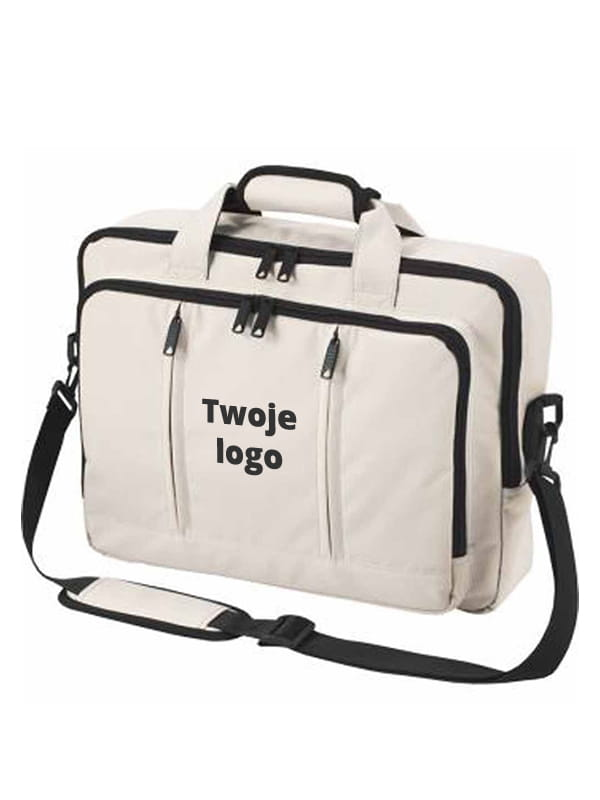 57760fee79c4e ... Plecak torba 2w1 na laptop Halfar Economy 1802765 - kolor beige ...