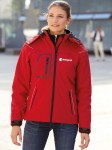 Damska kurtka softshell James+Nicholson Winter
