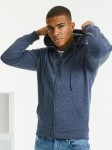 Męska bluza z kapturem Russell HD Zipped Hood Sweat