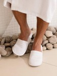 Kapcie do SPA Towels City Waffle Mule Slippers