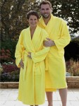 Szlafrok unisex Bathrobe Shawl Collar A&R AR025