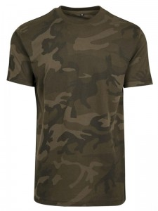 Męski Tshirt z twoim logo Build Your Brand Camo