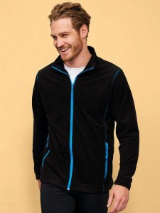 Męski polar Sol's Micro Fleece Zipped Jacket Nova Men