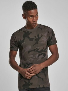 Męski Tshirt Build Your Brand Camo