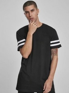 Męski t-shirt Build Your Brand Stripe Jersey Tee