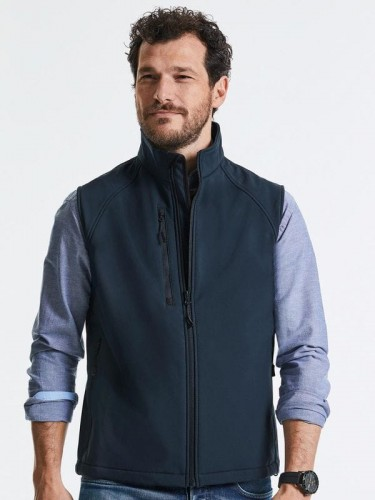 R-141M-0 softshell Russell Gilet