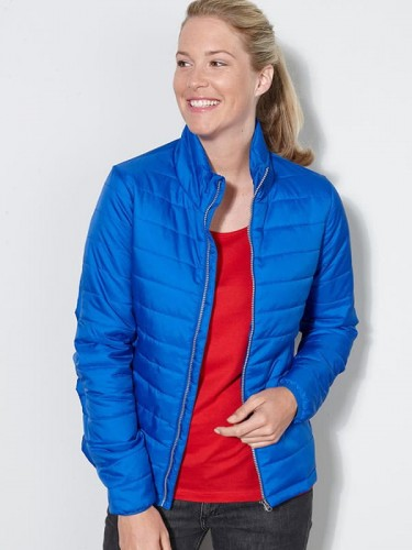 Damska kurtka James Nicholson Ladies` Padded Jacket JN1119