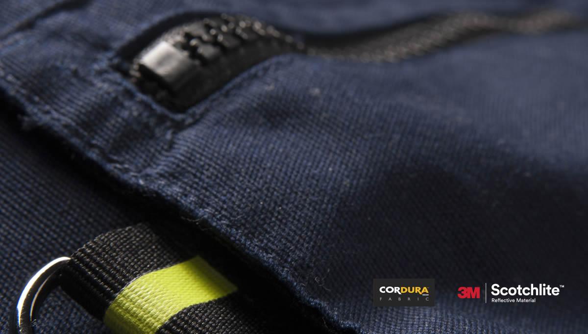 Cordura w ubraniach roboczych